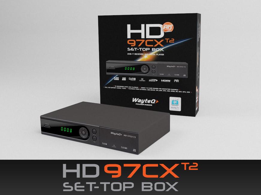 DVB-T/DVB-T2 vevő és médialejátszó egyben!