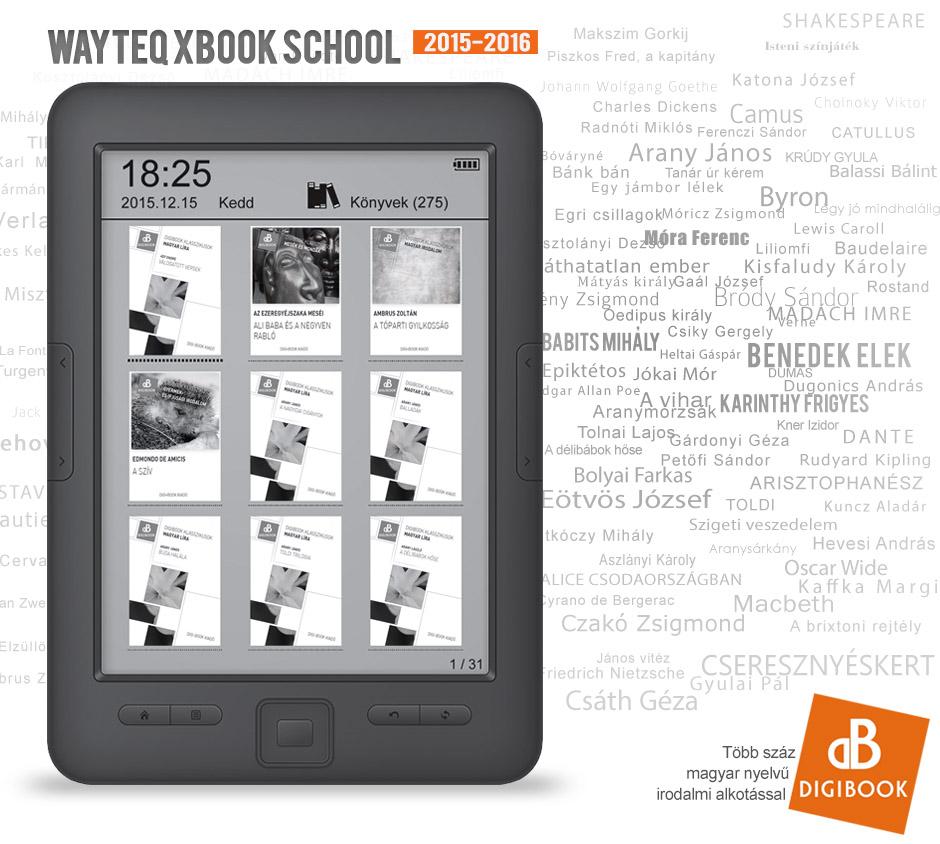 WayteQ xBook School 2015-2016